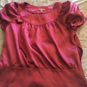 Apt 9 purple blouse